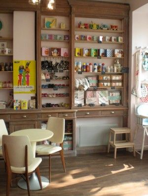 Cafe Grenadine Cafe Enfants Restaurant Paris Decoration De Cafe