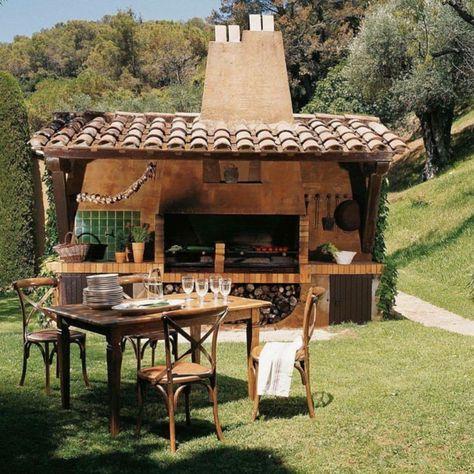37 Ideen Fur Outdoor Kuche Fur Angenehmes Abendessen Im Freien Outdoor Dining Outdoor Kitchen Design Outdoor Oven