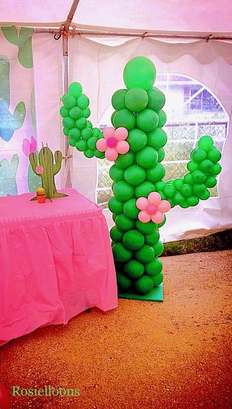 31 Inch Mylar Balloon Cinco de Mayo Fiesta Party Decor Cactus Party CACTUS Balloon Giant 31 Inch Cactus Balloon Cactus Party Decor