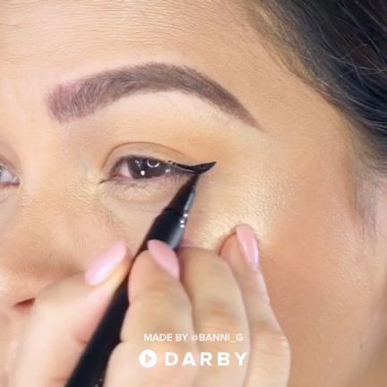 How to get the perfect winged eye look with the Sigma Liquid Pen Eyeliner - best_makeup_pintennium