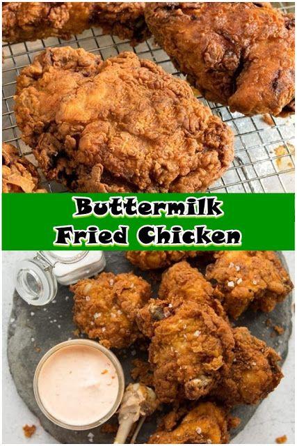 Buttermilk Fried Chicken With Images Chicken Dishes Recipes Chicken Wing Recipes Fried Best Fried Chicken Recipe