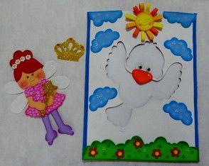 Envelope O Passaro Sem Cor Criancas Para Colorir Cores