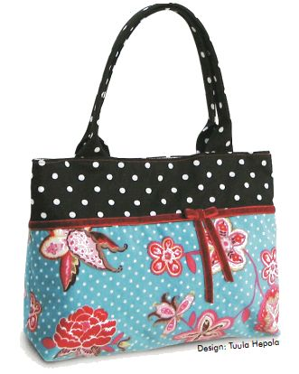 Free Dotted Dream Purse PDF Sewing Pattern by Ottobre