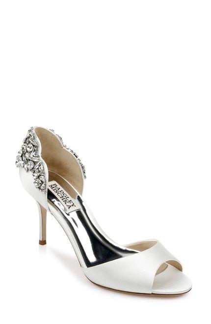 Celeste Embellished Peep Toe In 2020 Wedding Shoes Open Toe Bridal Shoes Bride Shoes
