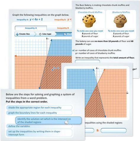 New Buzzmath Activity Solving Systems Of Linear Inequalities Blog Linear Inequalities Teaching Algebra Algebra Interactive Notebooks