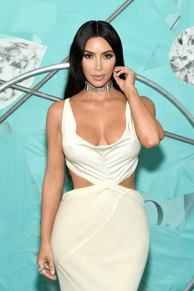 Kim Kardashian West attends as Tiffany & Co. Celebrates 2018 Tiffany Blue Book Collection, THE FOUR SEASONS OF TIFFANY, at Studio 525.