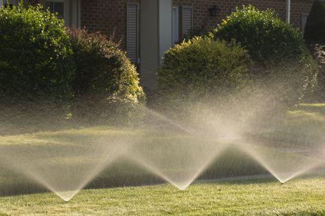 IRRIGATION AUTOMATIC SPRINKLER Lawn Garden Underground Watering Rotary System