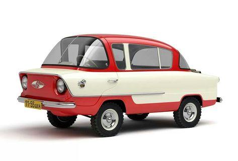Nami-450 Belka 746cc 1956 USSR. I wish we all drove these!