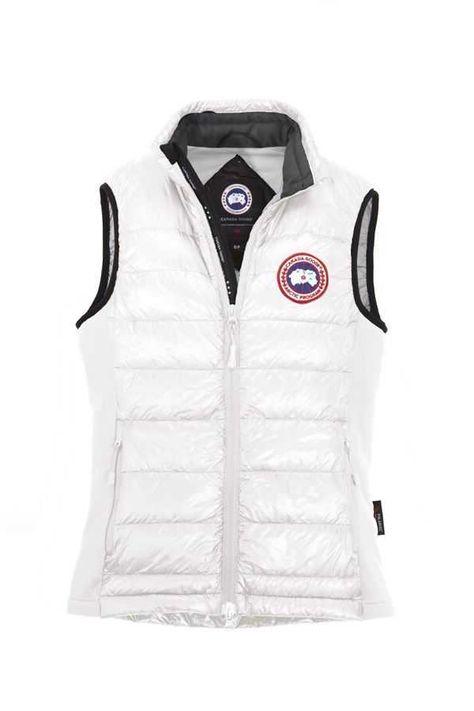 423a46f2df10 Canada Goose Hybridge Lite Vest White For Women