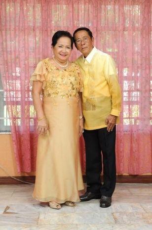 Golden Wedding Anniversary Dresses
