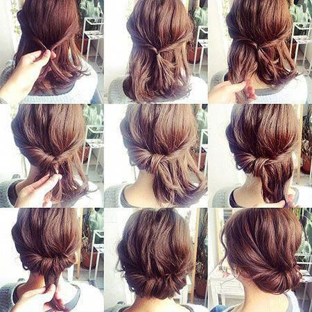 Pin On Easy Updos For Medium Hair
