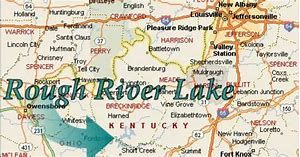rough river lake map Rough River Lake Ky Lake Kentucky Rough rough river lake map