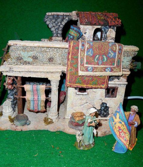 Rug Merchants Colonnade Retired NOS Little Town Of Bethlehem Dept 56 Holy Land
