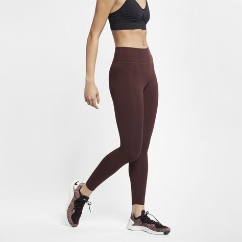 hot sale online b7025 dd0b8 Nike One Luxe Women s 7 8 Training Tights Size XS (El Dorado)