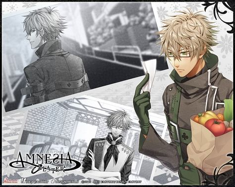 Image result for amnesia anime kent