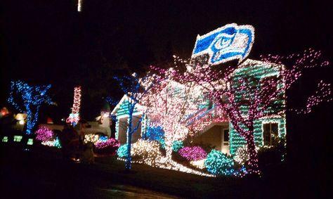 Seahawks Christmas Lights.Seattle Seahawks Christmas Lights Christmas Seahawks