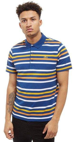 Lacoste Sleeve Polo ShirtMens Short Stripe lK31FcTJ