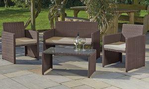 Groupon Rotan Garden Lounge Set Voor 199 99 Met Gratis