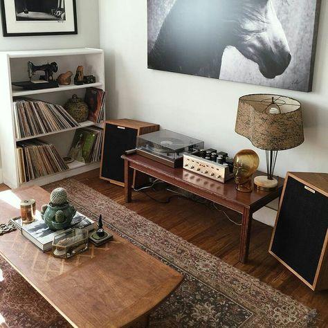 #klipsch #speakersandcoffee #interior #vinyl #sound #hifi #record #amp #audio #vinylporn #speaker #vinyljunkie #decor #industrial…