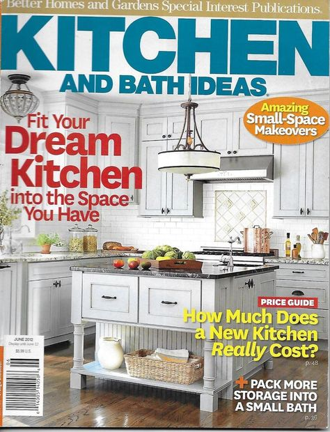 Kitchen And Bath Ideas Magazine Small Space Makeovers Small ...