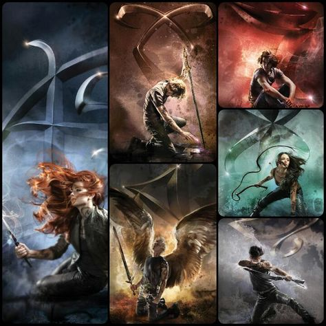 2015 Shadowhunters Re-Released Covers by far-eviler.deviantart.com on @DeviantArt