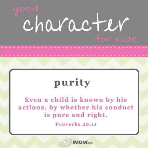 Good Character for Kids Verses - iMOM