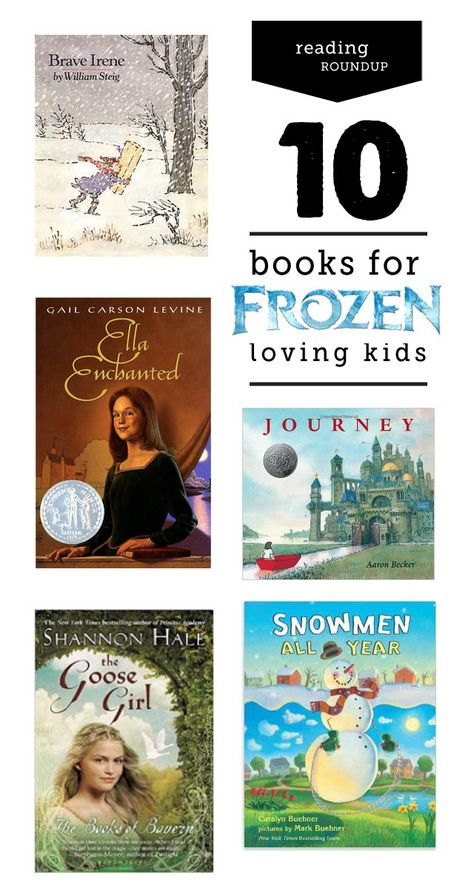 Does your child love Frozen? Here is a Frozen reading list.