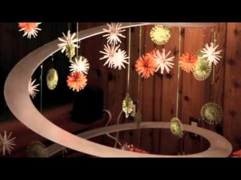 Cardboard Christmas tree to prepare tree - YouTube