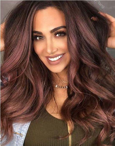 10 Cool Ideas Of Coffee Brown Hair Color 2020 Balyaj Sac