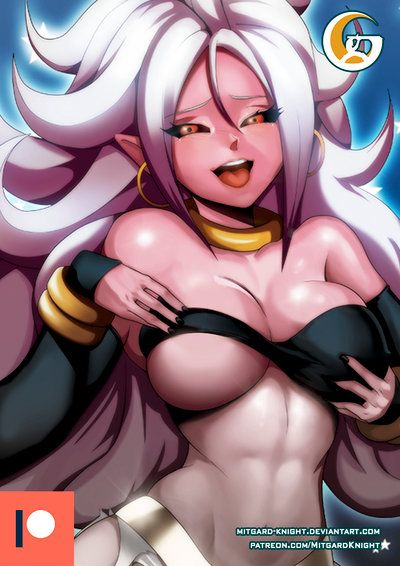 Patreon Dragon Ball Fighterz Android 21 A By Mitgard Knight