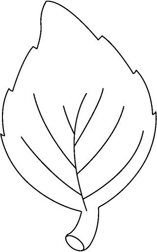 Leaf Pattern Bw Crafts And Worksheets For Preschool Toddler And Kindergarten Leaf Coloring Page Leaf Template Fall Leaves Coloring Pages