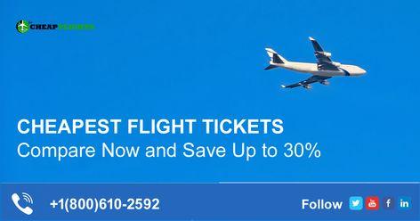 Search Compare & Book the Domestic/International Cheapest Flight Tickets