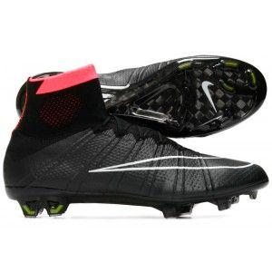 c3660c32e Cheap Nike Mercurial SuperFly IV(4) FG Men s Soccer Cleats -Black Hyper  Punch Volt White