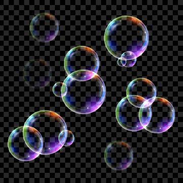 Multicolor Water Soap Bubble Bubbles Clipart Art Shape Png And Vector With Transparent Background For Free Download Soap Bubbles Bubble Drawing Bubbles