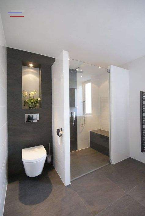 Best 25 Bad Fliesen Ideas Ehrfurchtig Design Badezimmer Fliesen Wei Und Anthraz Bathroomtiledesigns B In 2020 Badkamer Ontwerp Badkamer Grijs Badkamer Inspiratie