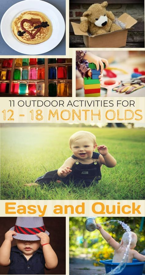 11 Outdoor Activities for 12 – 18 Month Olds - lowcostplayground.com