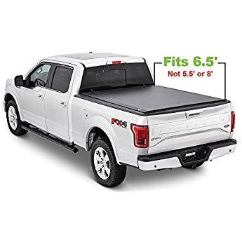 Tonno Pro Lr 3050 Lo Roll Black Roll Up Truck Bed Tonneau Cover 2009 2018 Ford F 150 Fits 6 5 39 Bed Tonneau Cover Tri Fold Tonneau Cover Ford F150