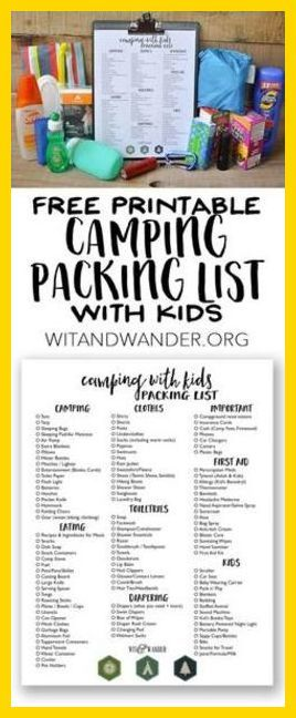 Camping Checklist - Tent Camping Vs RV Camping * More info could be found  at the image url. #beaches | Baby Camping Gear | Pinterest | Camping  checklist, ...