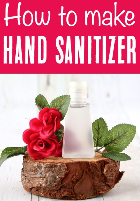 How to Make Hand Sanitizer at Home! {Easy DIY Recipe}