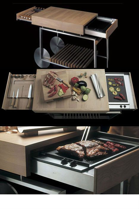 New Recipes For Outdoor Barbecuing Kitchen Island On Wheels Outdoor Kitchen Modern Kitchen Island