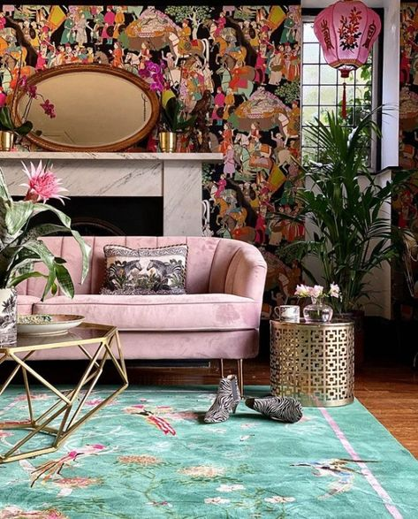 Would You Try A Maximalist Living Room? Here are tips for a comfortable maximalist living room Cozy Living Rooms, Living Room Decor, Cozy Eclectic Living Room, Interior Design Inspiration, Room Inspiration, Maximalist Interior, Eclectic Design, Minimalist Living, Minimalist Apartment