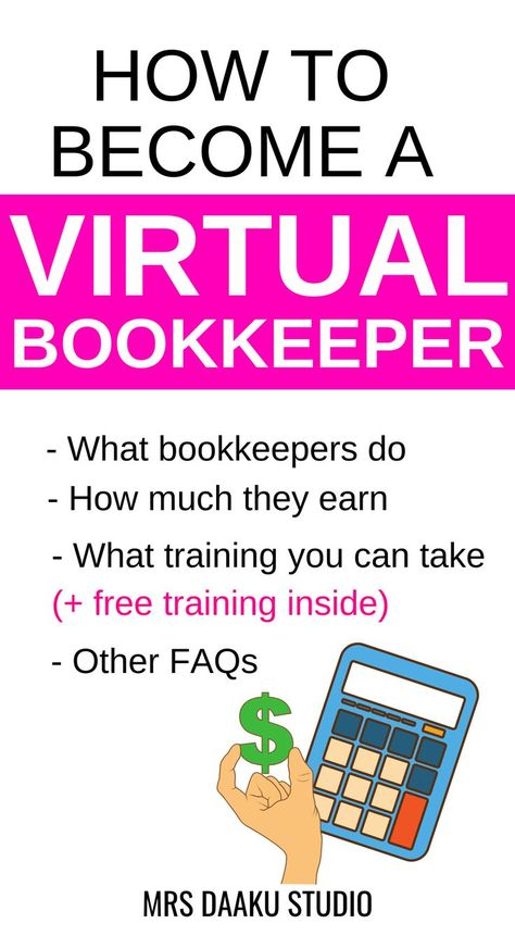VIRTUAL BOOKKEEPING BUSINESS - WORK FROM HOME!