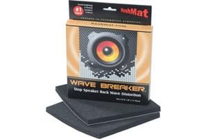Hushmat Wave Breaker Kit Pair Of Sound Deadening Pads For Speaker Back Waves At Crutchfield Car Audio Car Stereo Car Sounds