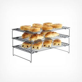 3 Tier Cooling Rack Baking Tray Set Tray Bakes Cooling Racks