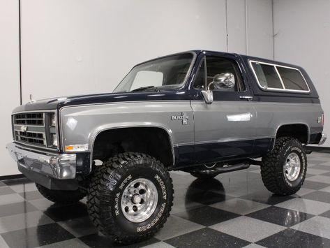 1988 Chevrolet Blazer K5 Con Imagenes Camiones Chevy