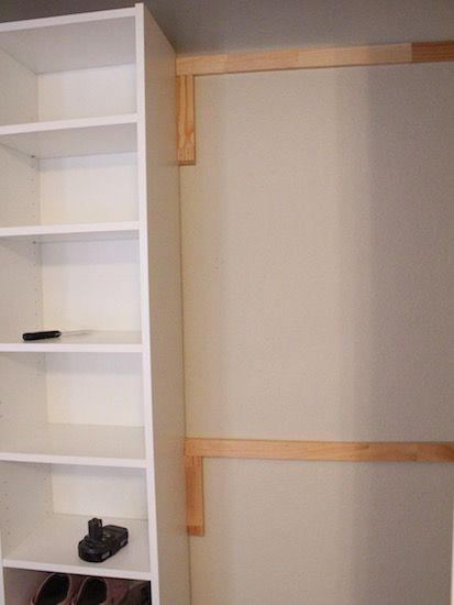 How To Build Your Own Closet Built Ins Using A Billy Bookcase (IKEA Hack).  Really Awesome And Easy Tutorial. From Www.houseofhepworths.com | IKEA ...