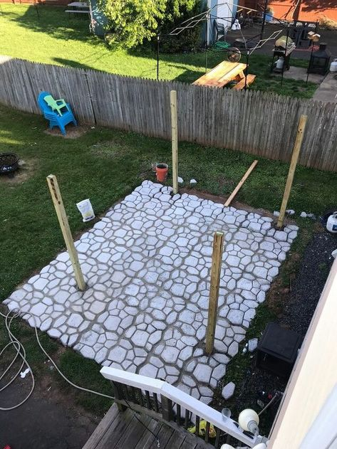 How to Make a DIY Patio With WalkMaker Mold