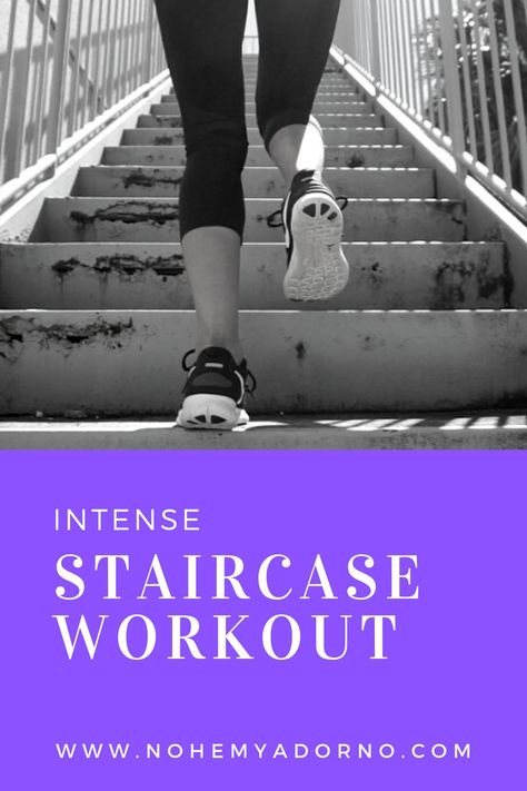 I posted an intense stair workout video on my YouTube channel. I wanted to compliment it with a blog post. You can do this workout using indoor and outdoor stairs. The exercises are listed below along with the link to the video. #staircaseworkout #stairworkout #hiitworkout