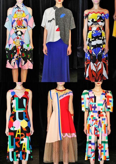 London Fashion Week Spring/Summer 2014 Print Highlights Part 3 catwalks Tata Naka