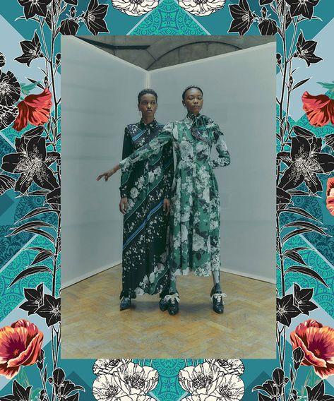 Autumn/Winter 2020/21 Print & Pattern Trend – Organised Florals